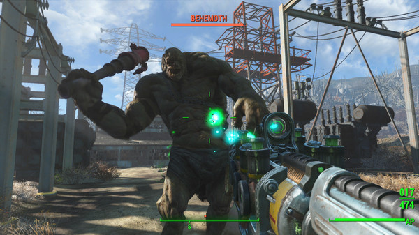 Test Fallout 4 -Lightningamer - behemoth