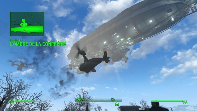 Test Fallout 4 - LightninGamer - dirigeable