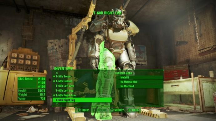Test Fallout 4 - Lightningamer- Mod Armure assistée