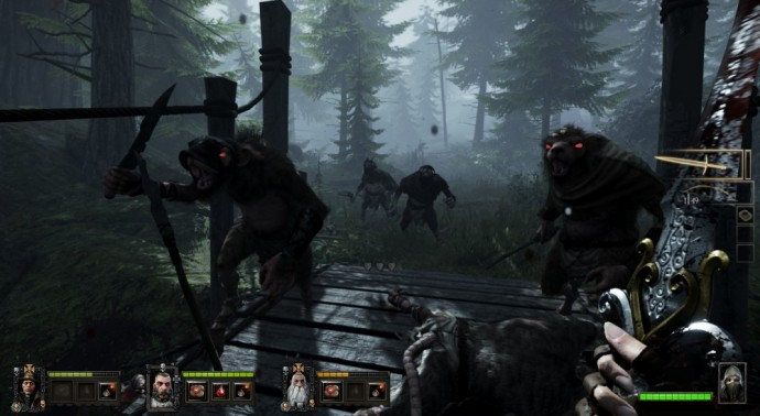 Warhammer End Times - Vermintide - Forêt - LightninGamer