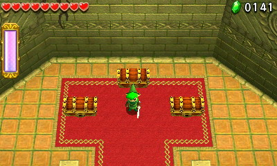 The Legend of Zelda - Tri Force Heroes coffres à choisir