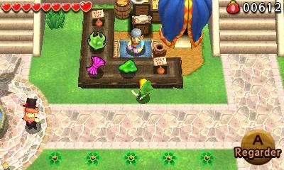 The Legend of Zelda - Tri Force Heroes marchand de rue