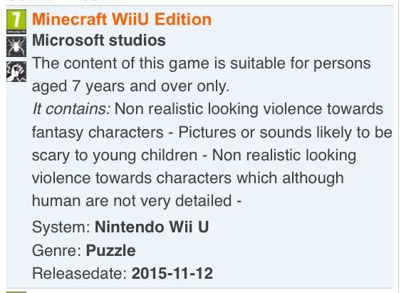 Minecraft arrive enfin sur Wii U ?
