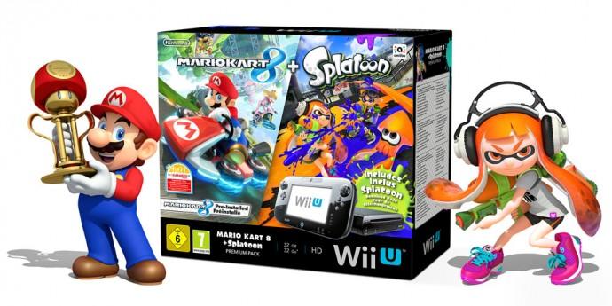 Wii U Mario Kart 8 Splatoon
