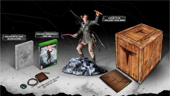 Le contenu de l'Edition Collector de Rise of the Tomb Raider