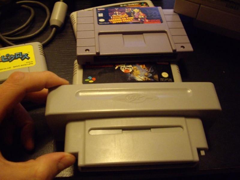 Super NES adaptateur