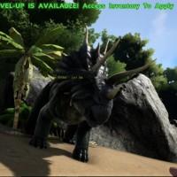 Un triceratops dans Ark