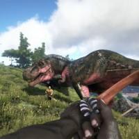 Chasse au T-Rex dans Ark