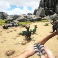 Chasse au dodo dans Ark