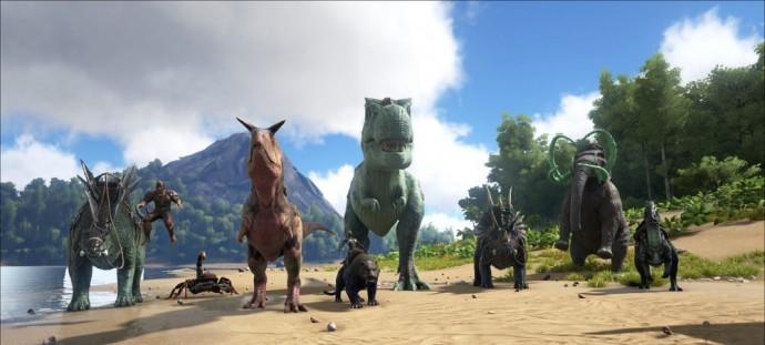 Un aperçu des dinosaures de Ark: Survival Evolved