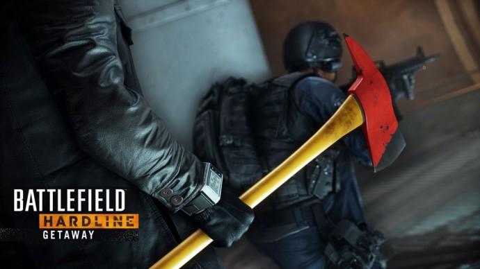 Un braquage se profile dans Battlefield Hardline : La fuite