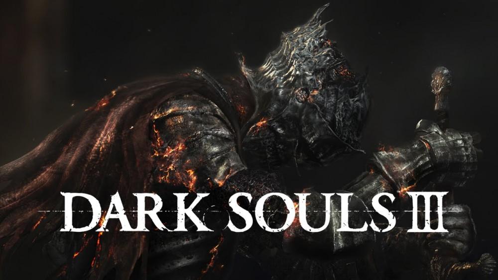 Guerrier plantant son arme au sol dans Dark Souls III