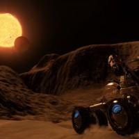 Une éclipse sur une belle planète dans Elite Dangerous: Horizons