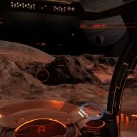 Exploration d'une Lune dans Elite Dangerous: Horizons