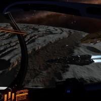 Dans les sillons d'une planète dans Elite Dangerous: Horizons