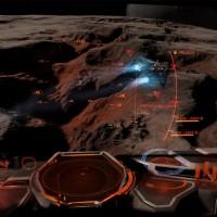 Planète déserte dans Elite Dangerous: Horizons