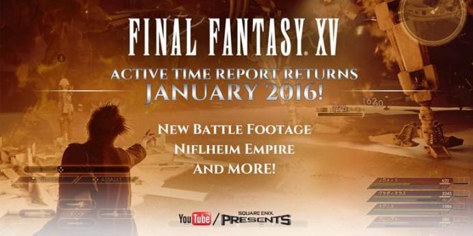 Affiche event Final Fantasy XV