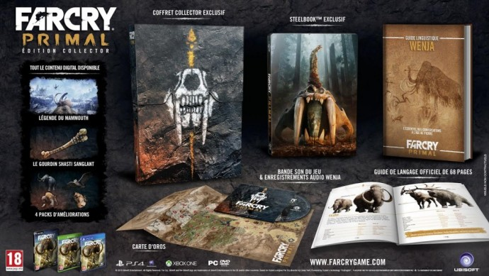Far Cry Primal - Edition Collector - LigthninGamer