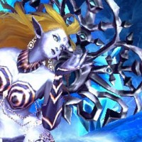 Shiva dans Final Fantasy Explorers