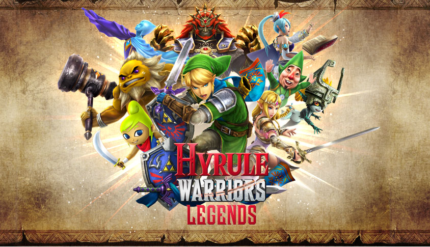 La jaquette d'Hyruile Warriors: Legends
