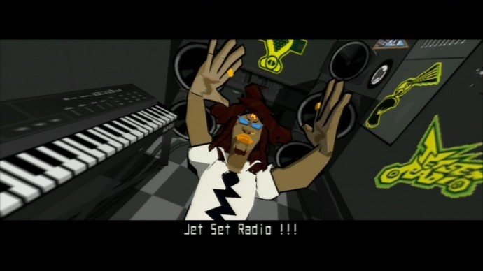 Jet Set Radio Professeur K