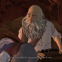 King's Quest - Episode 2 Gwendolyn se cache sous les couvertures du roi Graham