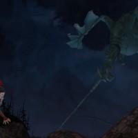 King's Quest - Episode 2 Roi Graham et Dragon attaché