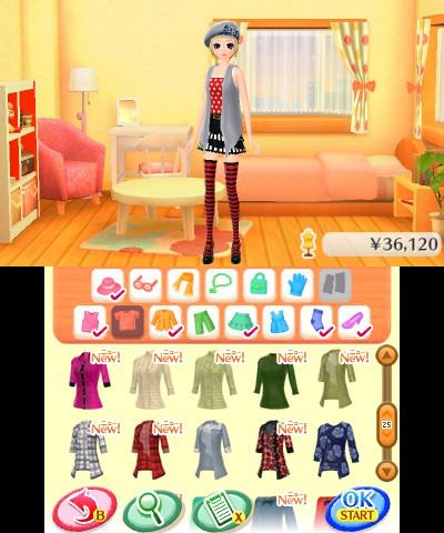 Test la nouvelle maison du style 2 les reines de la mode 3ds lightningamer - Maison de la mode ...