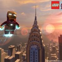 Iron Man volant dans LEGO Marvel's Avengers