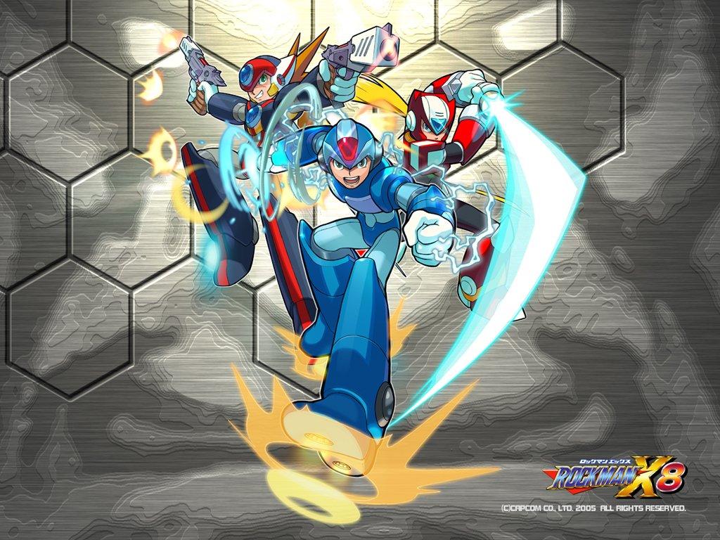 Mega Man Axl et Zero dans Mega Man X8