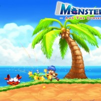 Monster Boy and the Cursed Kingdom Monster Boy humain frappe avec épée un crabe