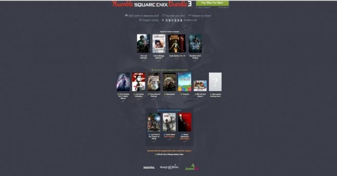 Humble Bundle offre Square Enix