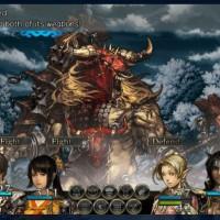 Asterios attaque l'équipe de Stranger of Sword City