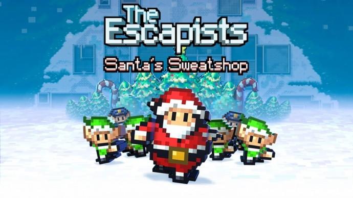 The Escapists Santa's sweatshop