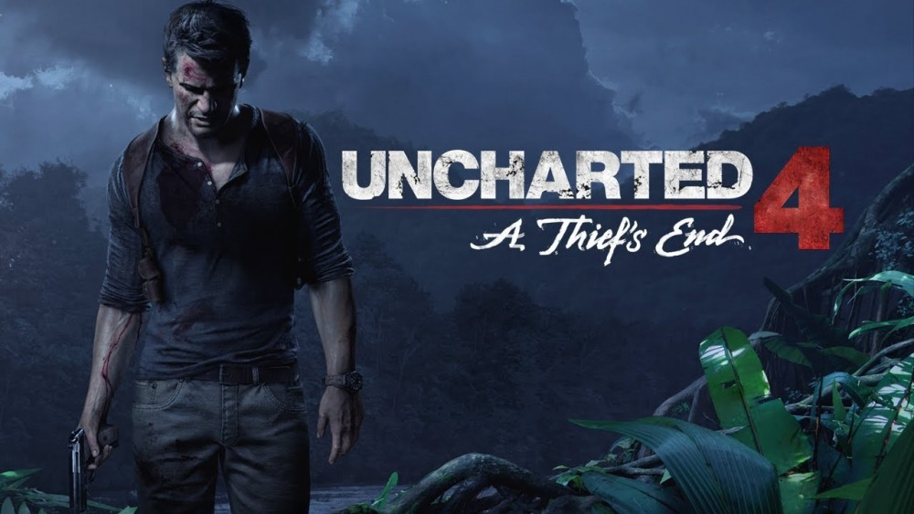 Nathan Drake debout dans la jungle dans Uncharted 4: A Thief's End