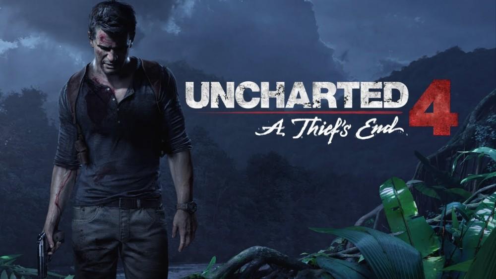 Nathan Drake debout dans la jungle dans Uncharted 4: A Thief's End