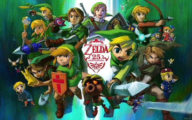 Zelda rétrospective Zelda 25e anniversaire
