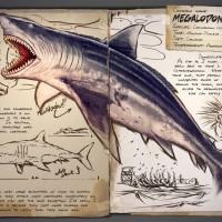 Megalodon dans Ark