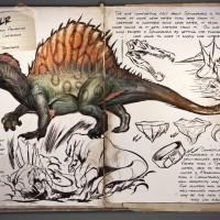 Spinosaure dans Ark