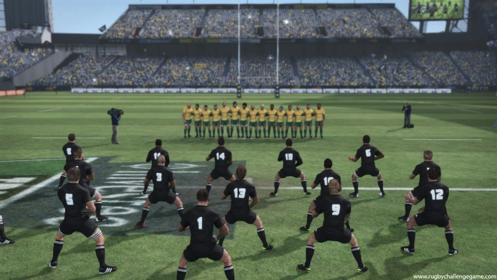 Petit haka dans Jonah Lomu Rugby Challenge 3