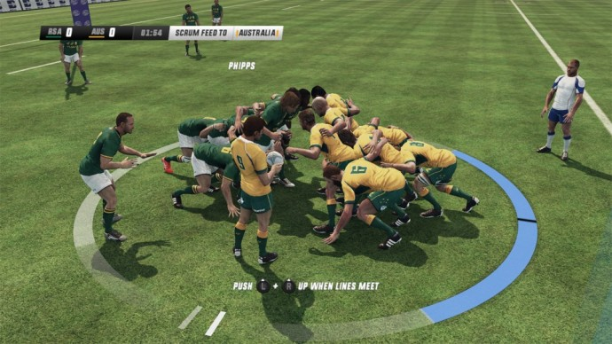 ça pousse en mêlée sur Jonah Lomu Rugby Challenge 3