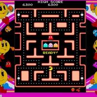 Un niveau de Ms. Pac-Man