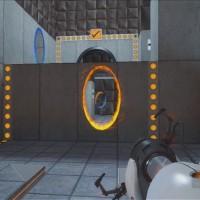 Création d'un trou dans le mur dans Portal: Still Alive