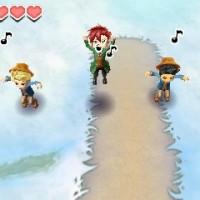 story of seasons plusieurs personnages sur la neige