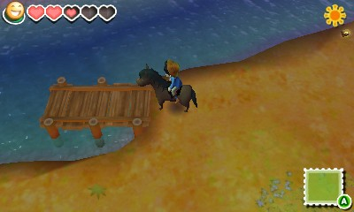 story of seasons personnage sur un cheval