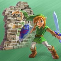 Artwork de Link de The Legend of Zelda: A Link Between Worlds