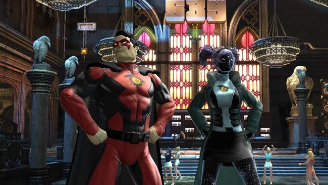 DC Universe héros avec l'embleme Daybreak