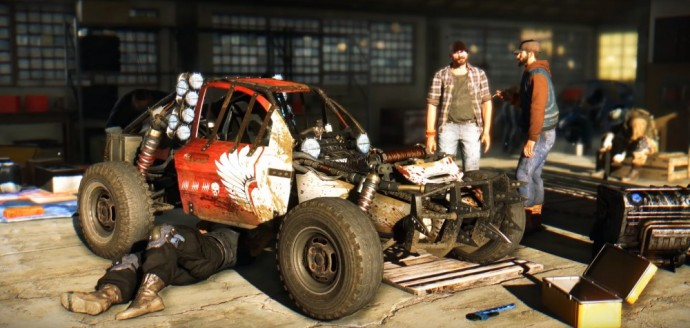 Un buggy dans Dying Light The Following