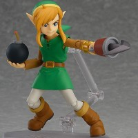Figurine Figma A Link Between Worlds Link grappin et bombe