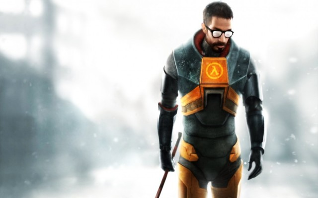 Gordon Freeman attristé